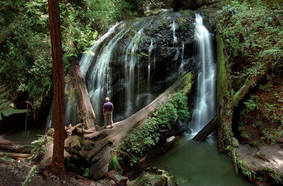 Russian Gulch State Park Waterfall