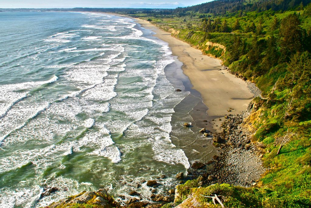 Enderts Beach overlook in Del Norte County, California.