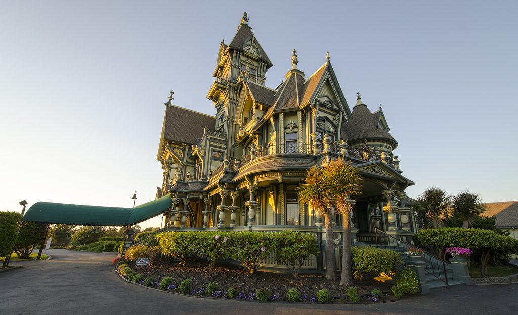 Carson Mansion in Eureka.