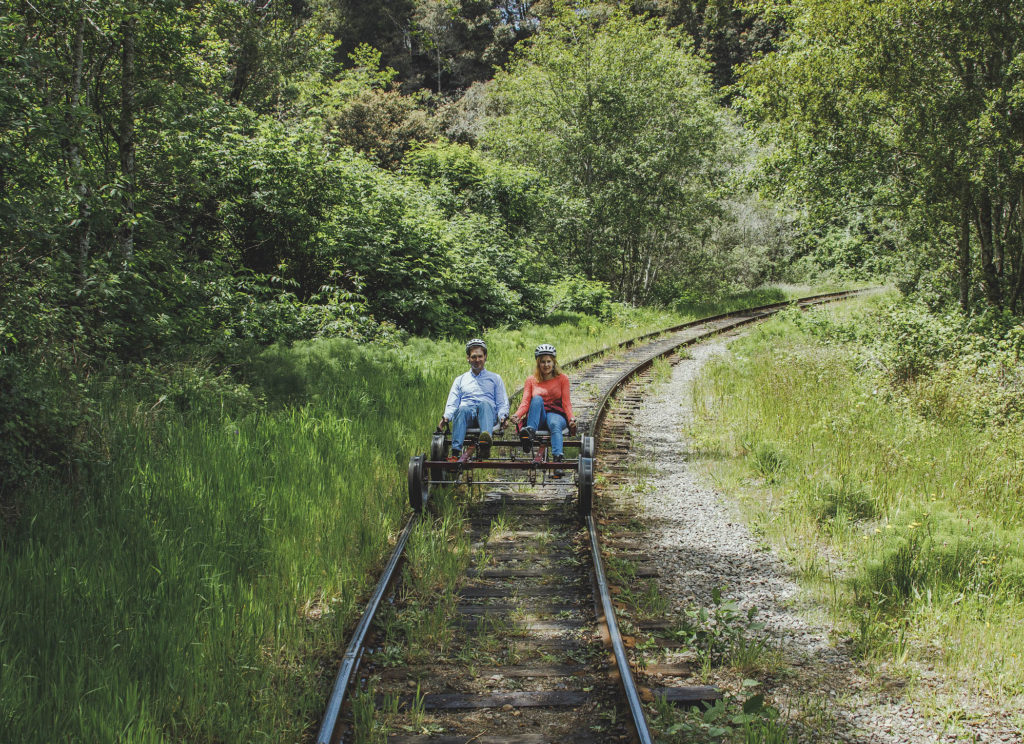 RailBikes of the Skunk Train