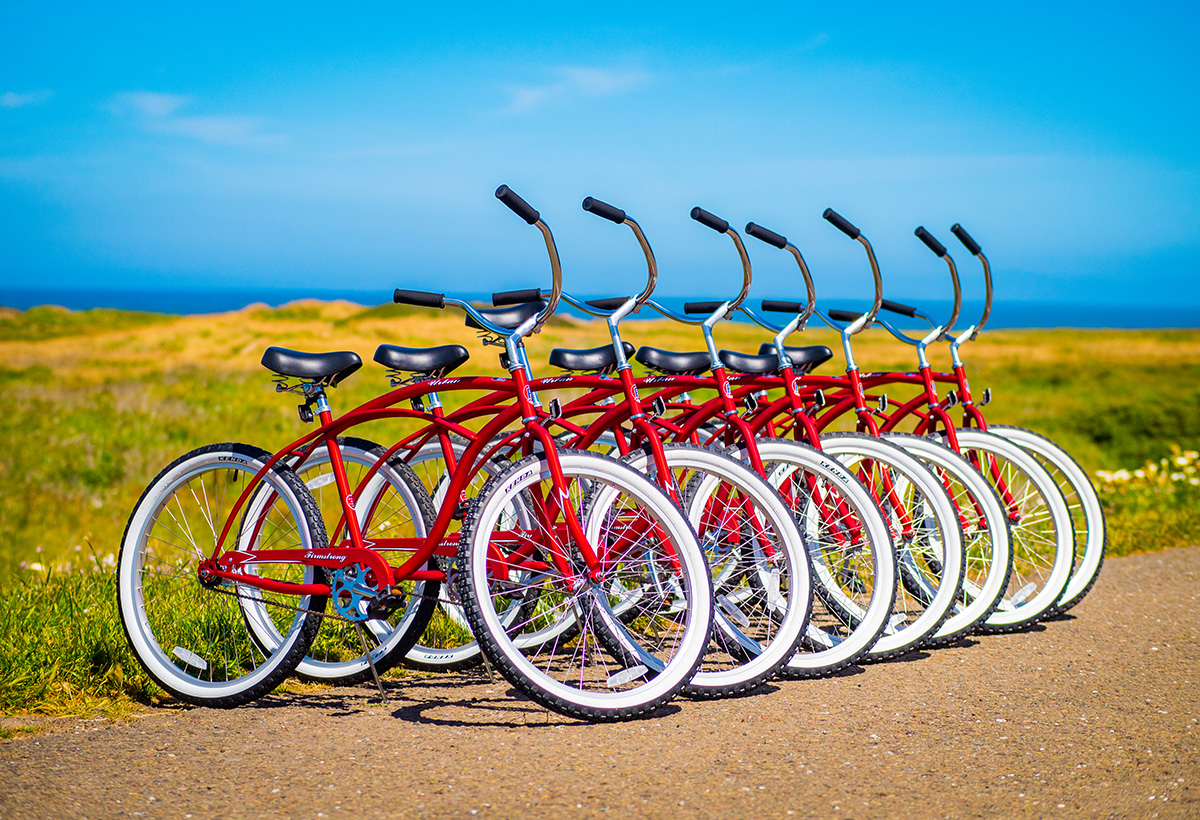 Bike rentals in Fort Bragg, California