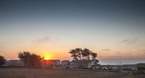 Sunset on the Mendocino Coast.