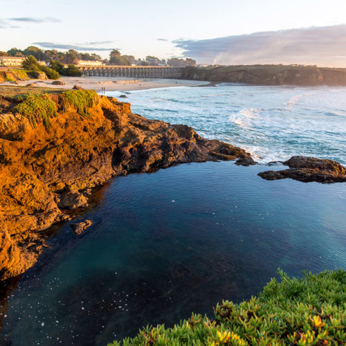 Mendocino Coast of Fort Bragg, California