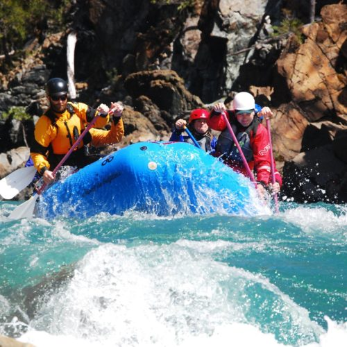 River rafting on the Smith River