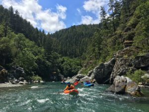 Kayaking on the Smith River