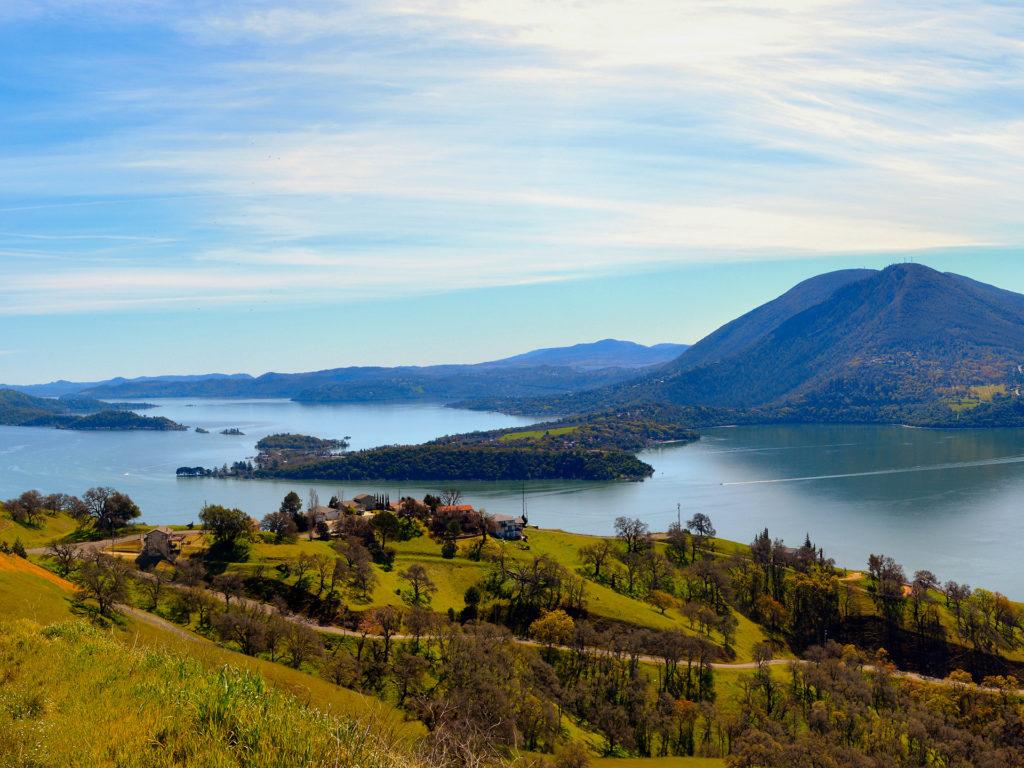 Clear Lake and Mount Konocti