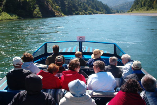 Jet Boat Tour on the Klamath River