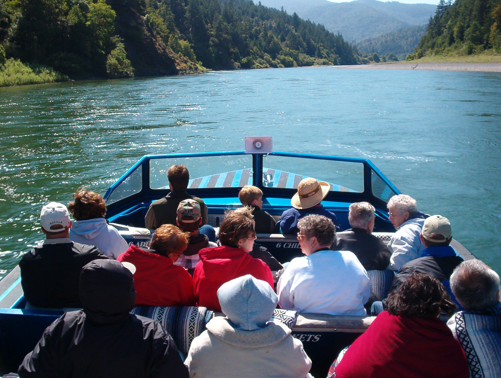 Jet Boat Tours on the Klamath River