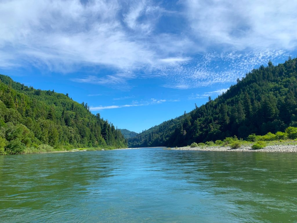 Klamath River of Northern California