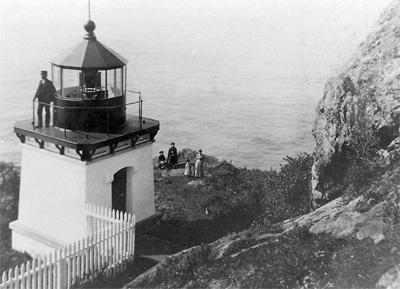 Trinidad Head Lighthouse.