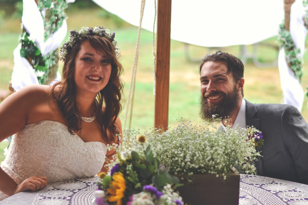 Amy and Joshua Mithchum