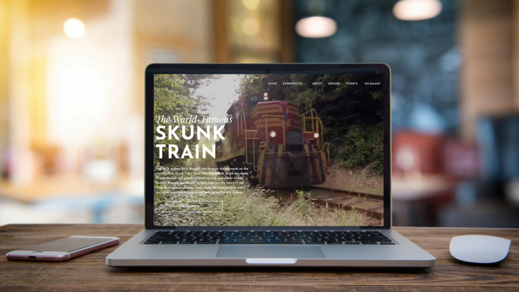 Skunk Train website
