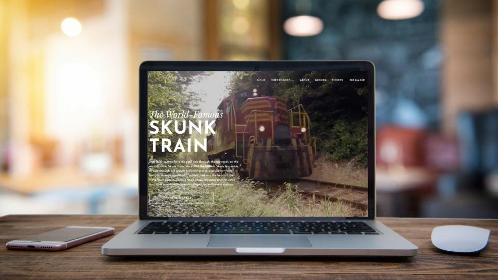 Skunk Train website